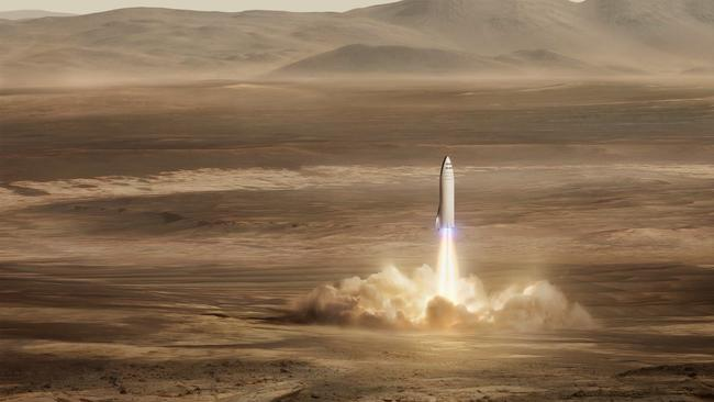 Nasa Circumspect About Elon Musks Mars 2024 Mission Plan