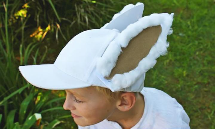 Make a bunny cap Easter hat