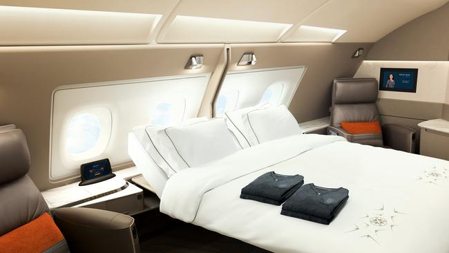 Perfect for lovebirds. Picture: Singapore Airlines