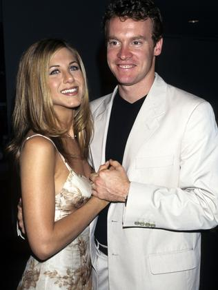 Jennifer Aniston and Tate Donovan. Picture: WireImage