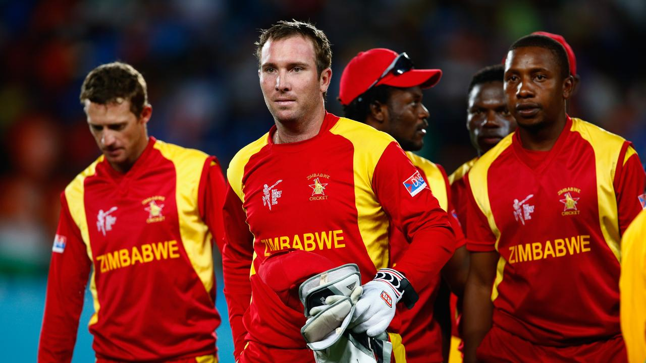 Zimbabwe was suspended from international cricket on Thursday because of government interference.