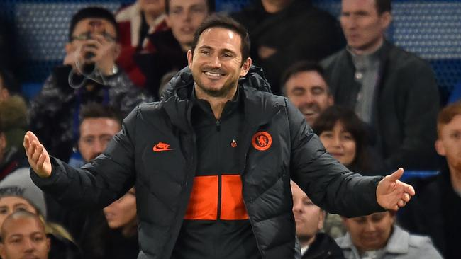Chelsea head coach Frank Lampard has brought in a strict fines system at the Premier League giant. Picture: AFP