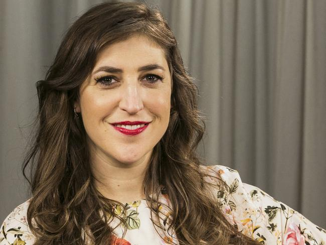 Actress Mayim Bialik's op-ed has been widely condemned. Picture: AP Photo/Damian Dovarganes