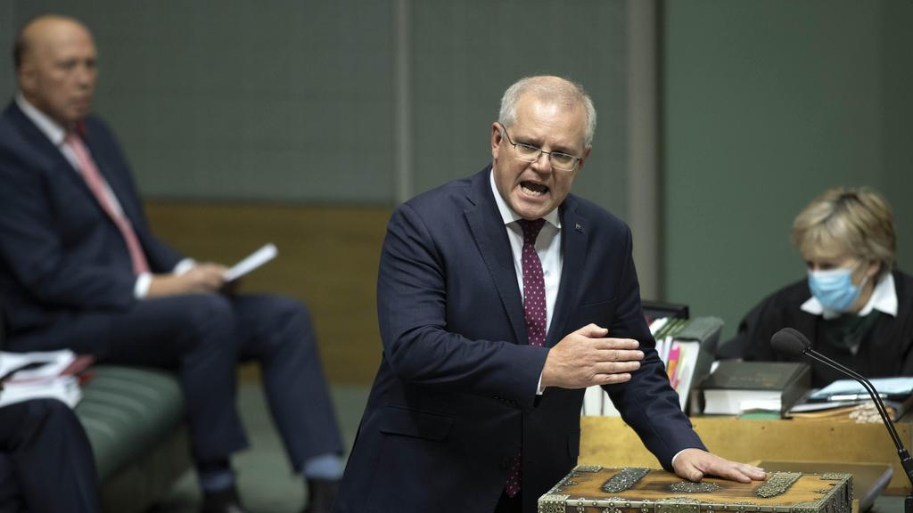 Prime Minister Scott Morrison has said he was concerned over the situation with China. Picture: NCA NewsWire / Gary Ramage