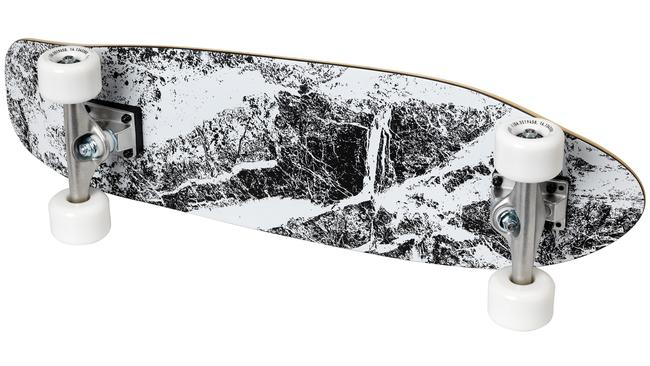 The SPÄNST skateboard features graphic design from Maja Ganszyniec, $99.
