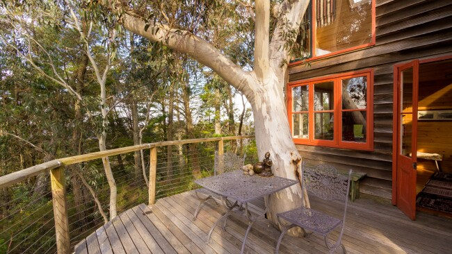 Treetop views of beautiful Blackheath. Photo: Airbnb
