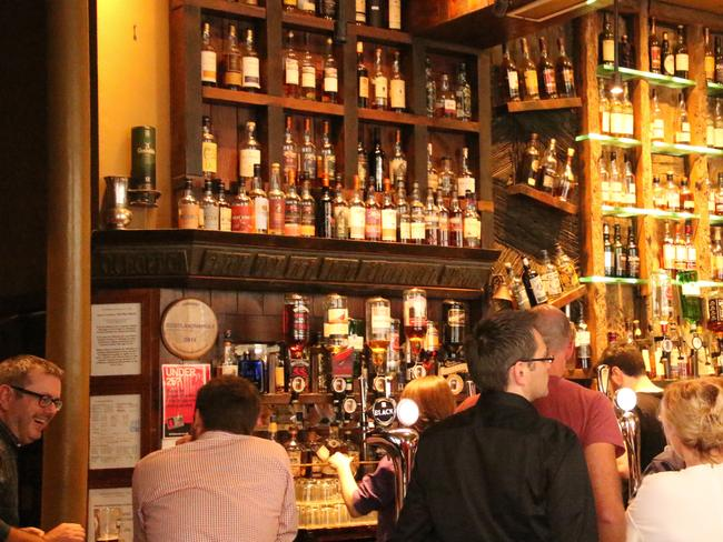 Glasgow's West End is now filled with trendy pubs. Picture: Sue Gough Henly