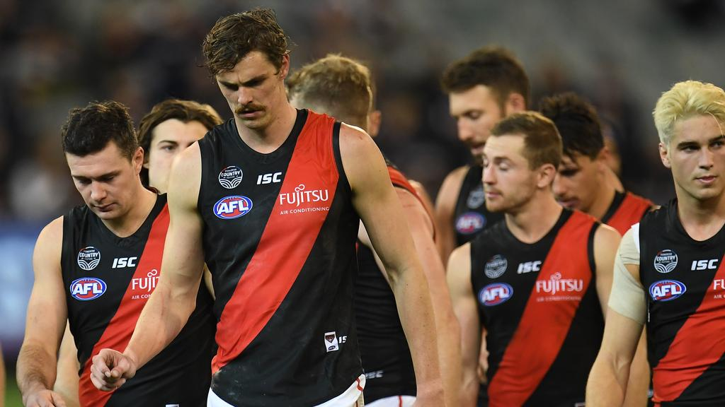 Groin injuries have restricted Daniher over the past two seasons. Pic: AAP
