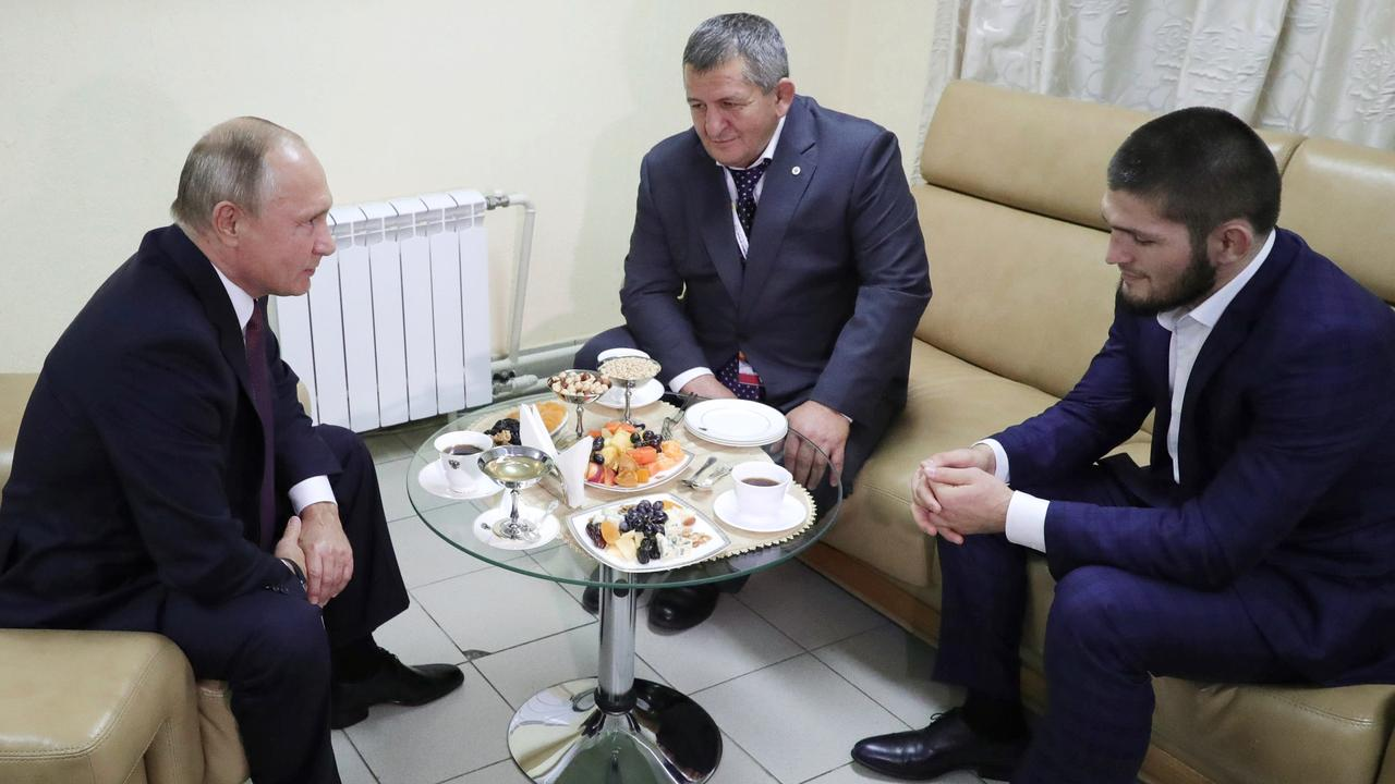 It's not everyday you get to take your father to share a coffee with Putin.