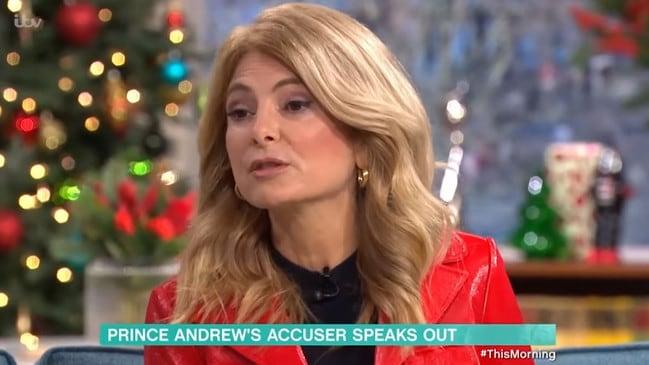 Lisa Bloom, the lawyer for victims of Jeffrey Epstein. Picture: ITV