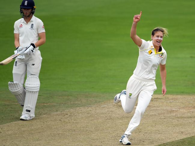 Ellyse Perry starred with both bat and ball during Australia's recent Ashes campaign (Photo by Alex Davidson/Getty Images)