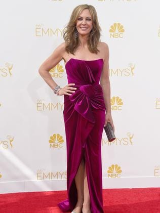Allison Janney attends the 66th Annual Primetime Emmy Awards.