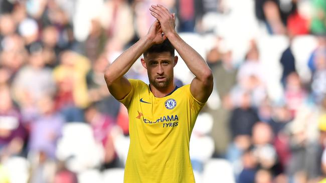 Gary Cahill has barely featured for the Blues this season.