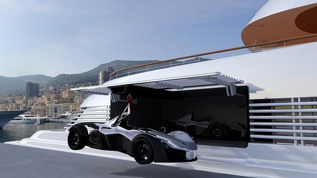 Time to take the Mono for a spin. Picture: Briggs Automotive Company