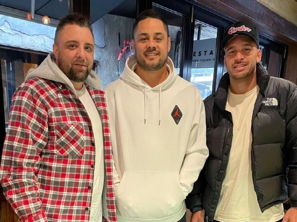 Jarryd Hayne caught up with Corey Norman.