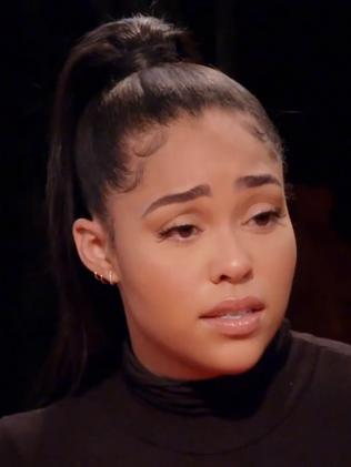 Jordyn Woods in her tell-all interview. Picture: Supplied