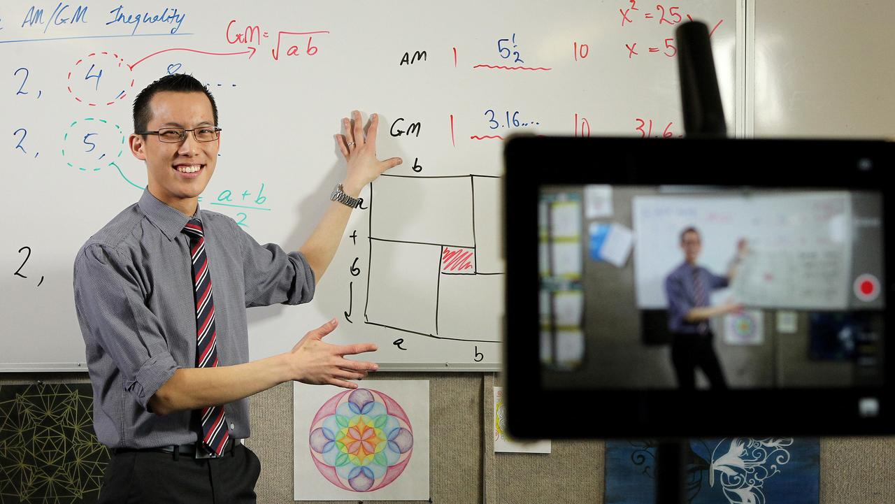 Eddie Woo, the head teacher of mathematics, at Cherrybrook Technology High School has started uploading his maths lessons to his YouTube channel Wootube.