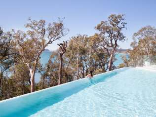 The Insta-perfect pool at Bannisters Port Stephens. Picture: Supplied