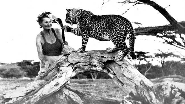 Naturalist Joy Adamson.