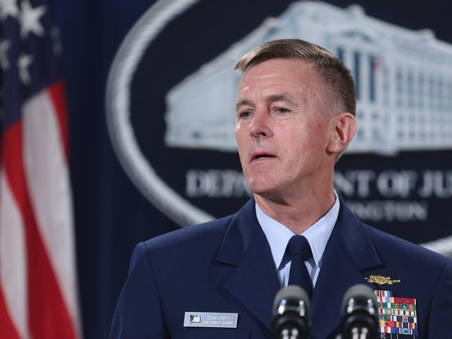 US Coast Guard Commandant Admiral Paul Zukunft thinks the Artic could turn into a major source of tension in the coming years. Picture: Chip Somodevilla