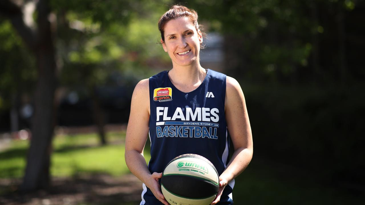Sydney Uni Flames basketballer Belinda Snell will retire at the end of the season. Picture: Phil Hillyard