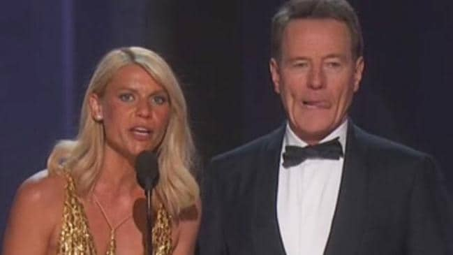 'I'd like to thank the tanning salons of America ...'