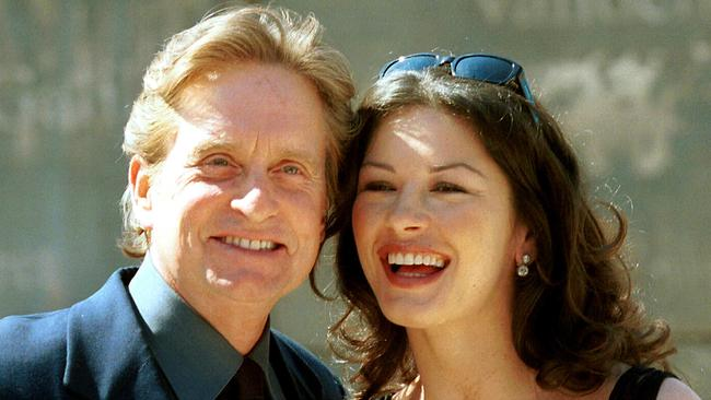 Michael Douglas and Catherine Zeta-Jones have been together for almost two-decades. Picture: Supplied