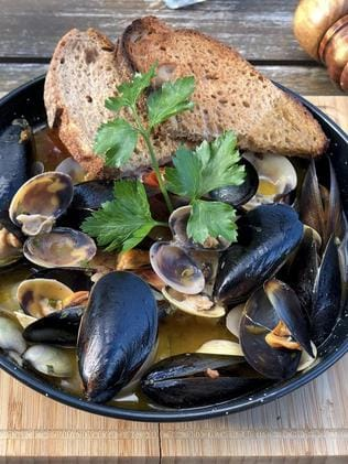 Piccola Baia's mussels. Picture: Instagram