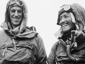 Sir Edmund Hillary didn't need to show off that he and Nepalese Sherpa Tenzing Norgay had reached the mountain's peak.