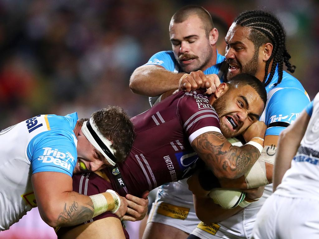 NRL Rd 23 - Sea Eagles v Titans