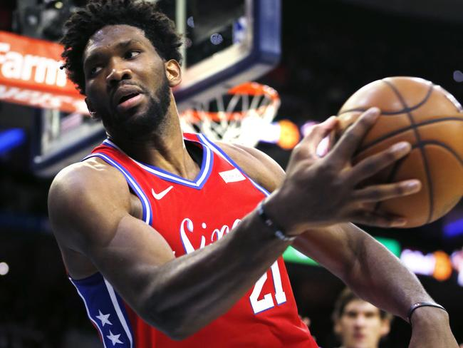 Joel Embiid had a day out.