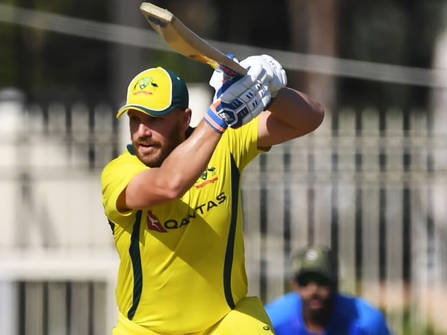 Aaron Finch has some work to do.