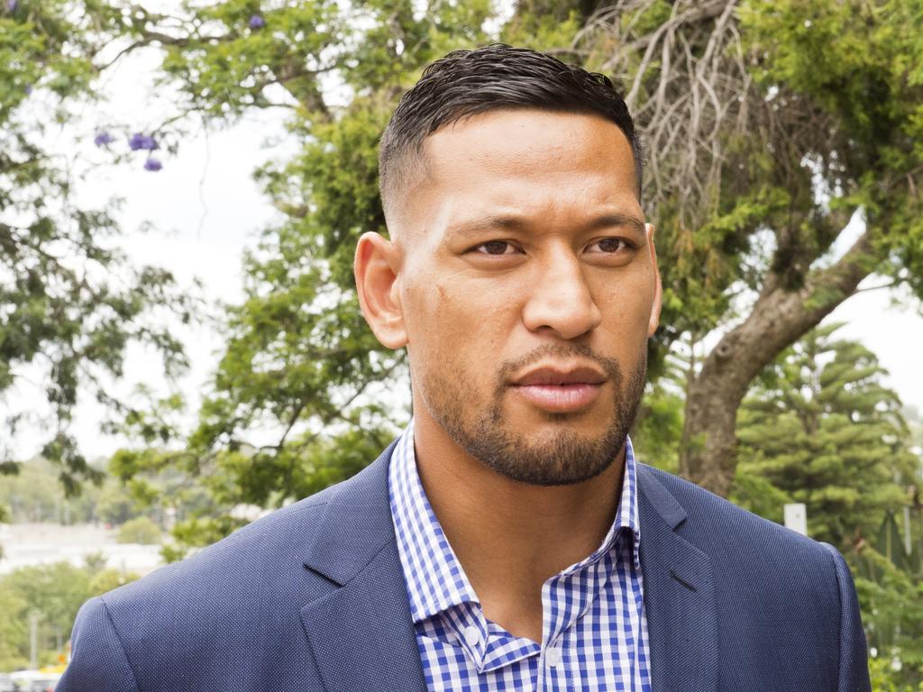 Former Australian rugby star Israel Folau is now a free sport agent.