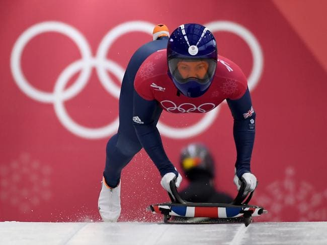 Lizzy Yarnold is one of three to raise eyebrows with her times.