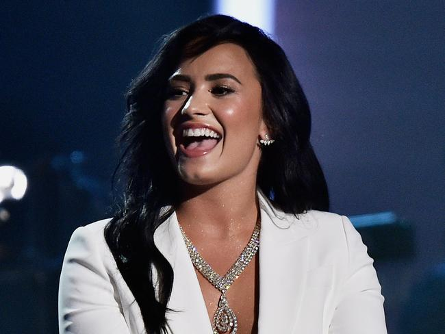 Lashing out ... Demi Lovato was accused of throwing shade at Taylor Swift.