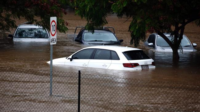 The economic damage from extreme weather events including floods, cyclone and fires is costing Australia billions every year. Picture: AFP