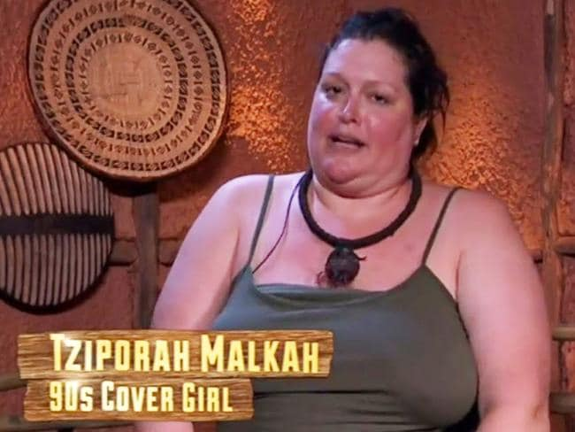 Tziporah Malkah in I'm a Celebrity Get Me Out of Here. Picture: Channel 10
