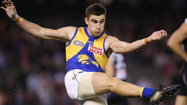 West Coast's Elliot Yeo has had an up-and-down scoring season in SuperCoach AFL in 2019