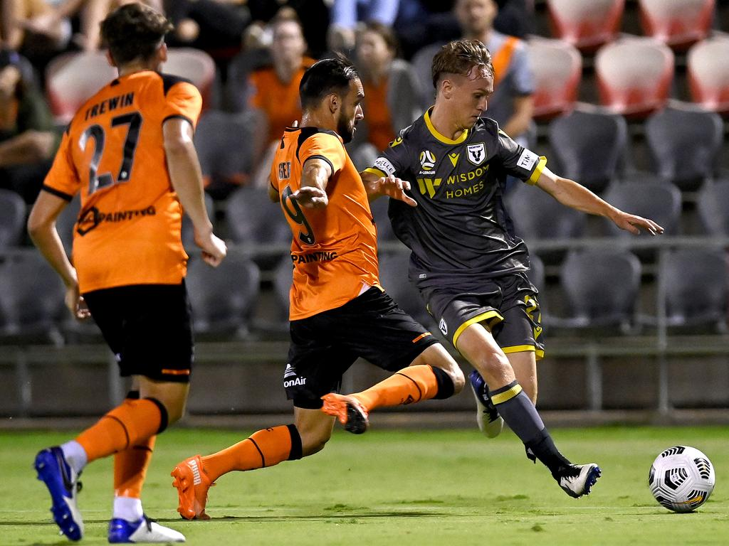 A-League - Brisbane Roar v Macarthur FC