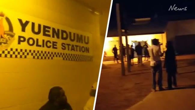 Aftermath of Yuendumu shooting