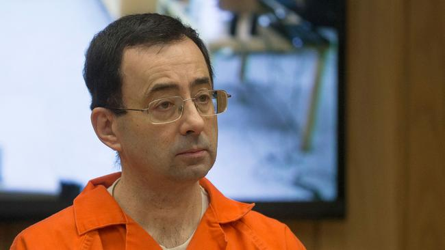 Former Michigan State University and USA Gymnastics doctor Larry Nassar is serving a life sentence. Picture: AFP