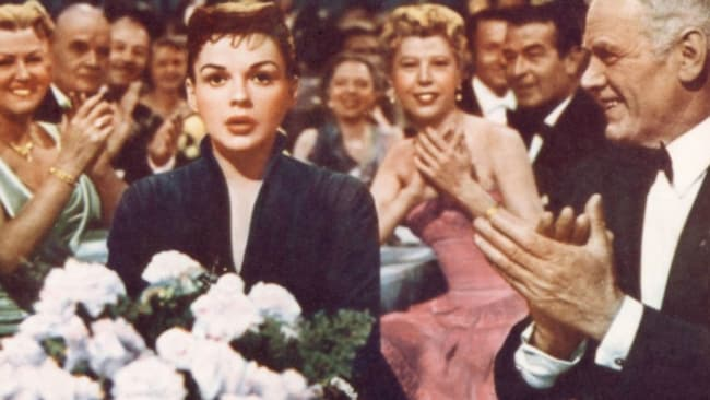 Judy Garland in 'A Star Is Born', the 1954 version. Image: TCM.