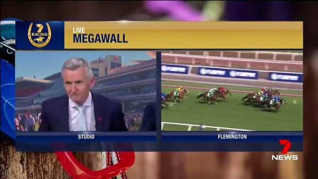 Even the great Bruce McAvaney was on the edge of his seat, as winx weaved her way to win number 28
