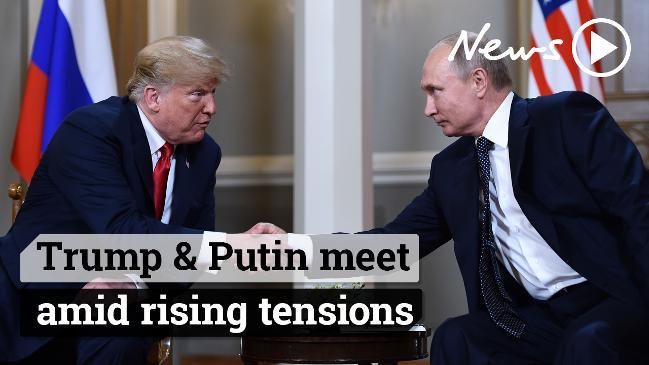 Trump & Putin meet amid rising tensions