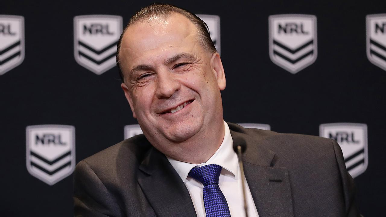 Peter V'landys says a second Brisbane team could be in the NRL by 2023. (Photo by Mark Metcalfe/Getty Images)