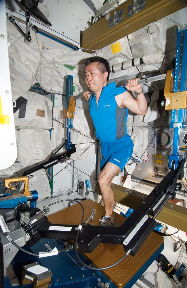 How Astronauts Workout In Space