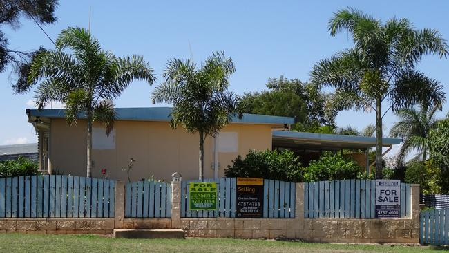 A home for sale on Bluff Road, Charters Towers.
