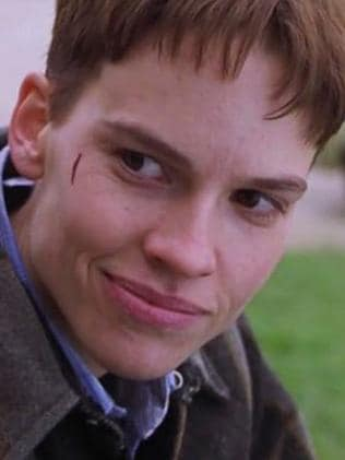 Hilary Swank in Boys Don't Cry. Picture: Supplied