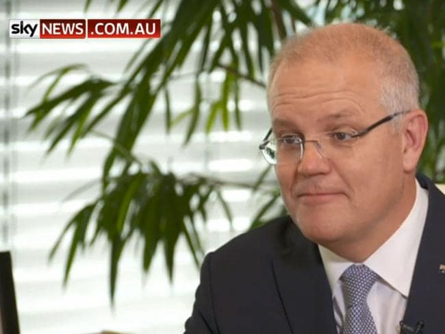 Scott Morrison told Sky News his promised tax cuts may be delayed.