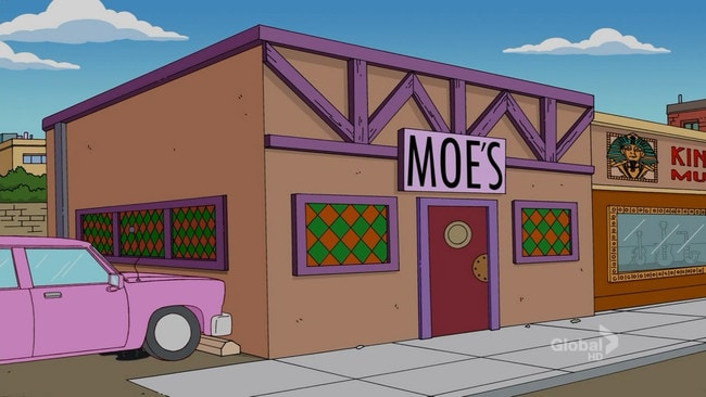 This Texan bar became Moe's Tavern for Halloween